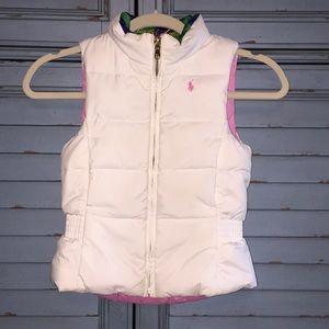 Ralph Lauren - Reversible Down Vest for Girls